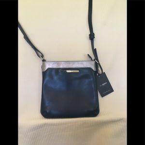 Jack French leather crossbody bag NWT